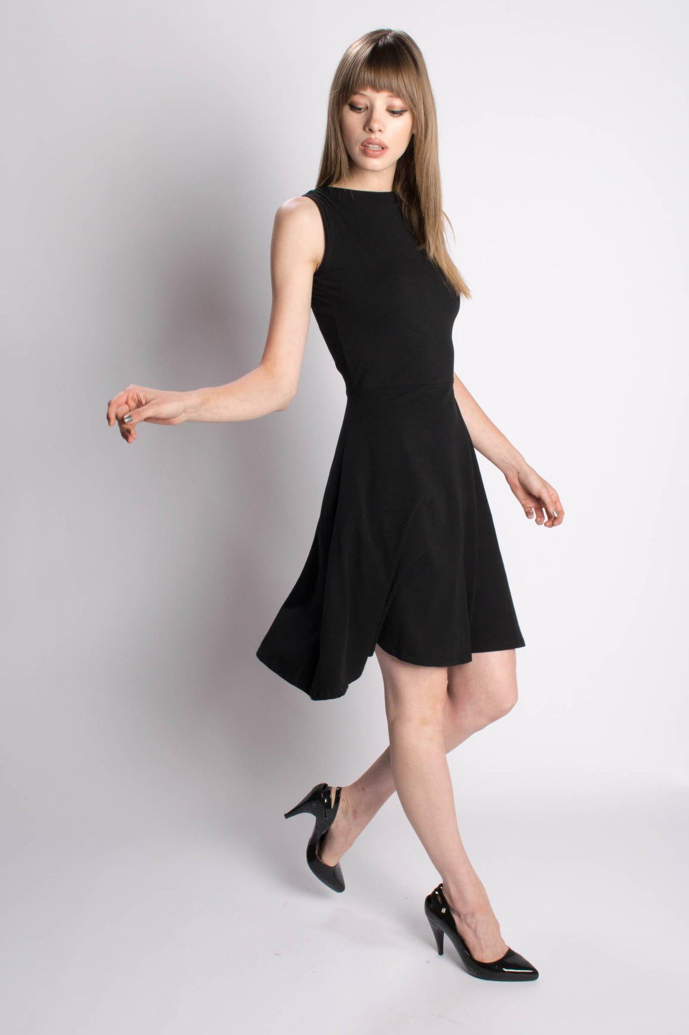 bead and reel black dress 2